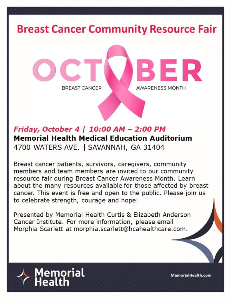 Breast Cancer Community Resource Fair